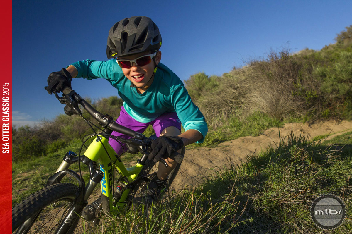 Share your passion for mountain biking with your kids—and help them discover theirs. Photo by Sterling Lorence