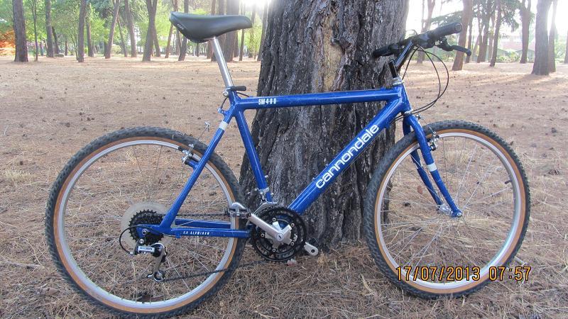 5cb61a63231 Cannondale SM 400- Mtbr.com