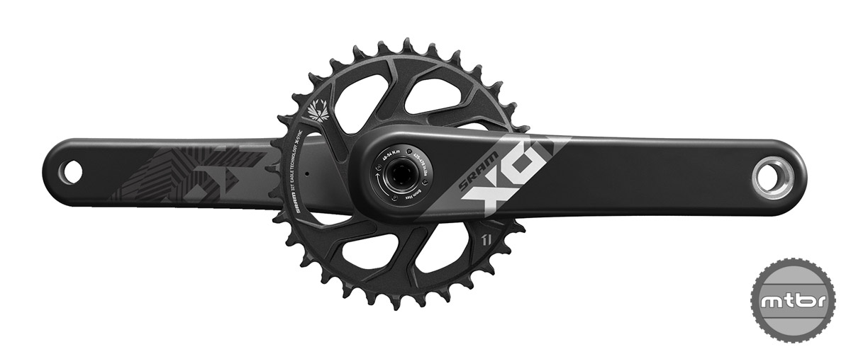 SRAM Eagle X01 Crank in Black
