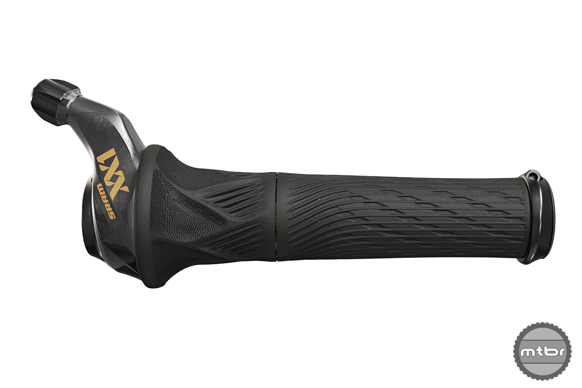 SRAM Eagle XX1 Grip Shift in Gold