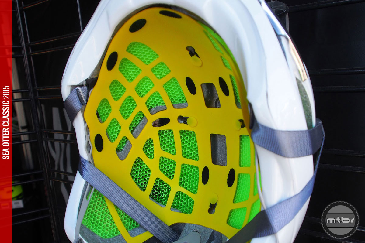 The addition of MIPs is claimed to up the safety factor by adding a low friction layer that allows the helmet to slide relative to the head during an impact.