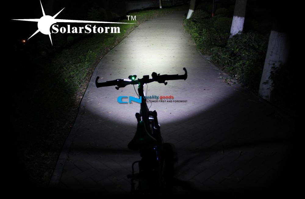 TrustFire TR-D002 2 X CREE XM-L2 2000LM 4 Modes Bike Bicycle LED Light