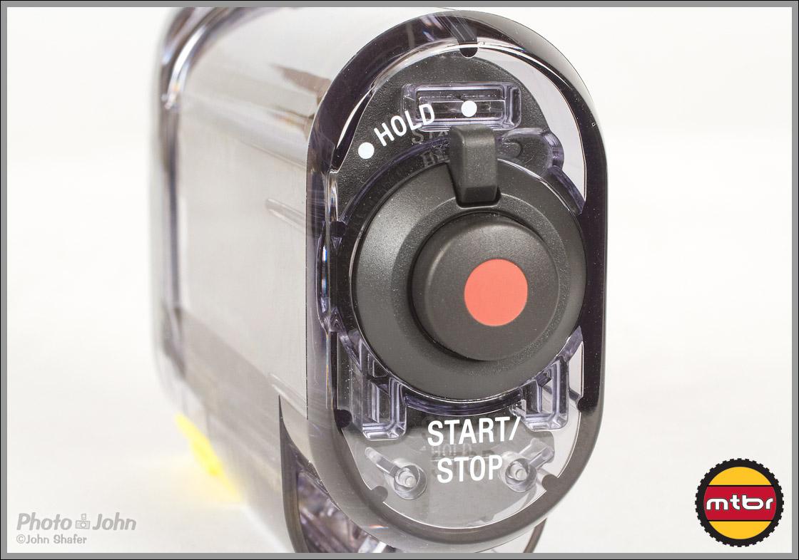 Sony Action Cam - Start/Stop Button On Underwater Case