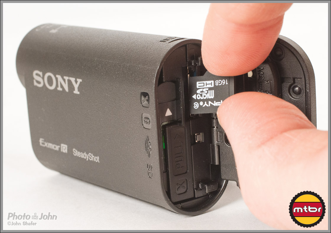 Sony Action Cam - MicroSD Memory Card