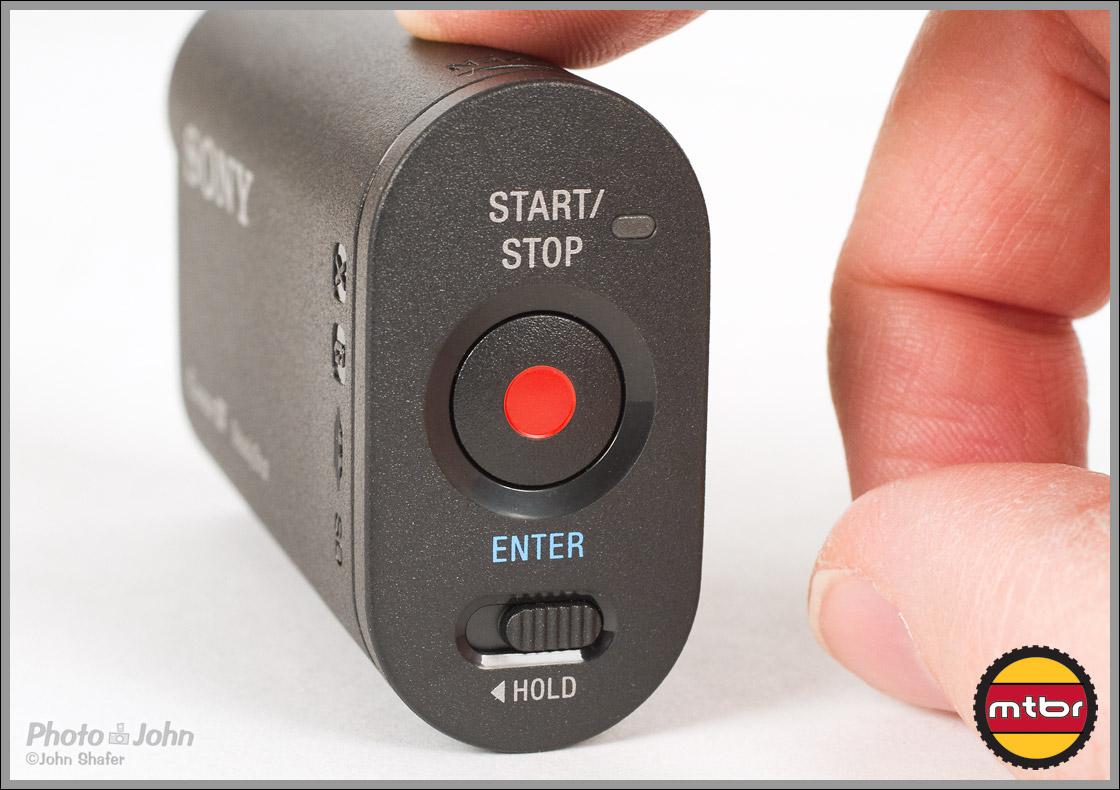 Sony Action Cam - Start / Enter Button