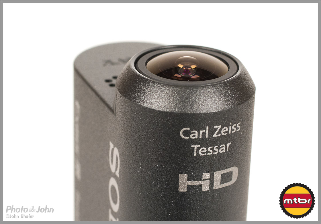Sony Action Cam - 170-Degree Carl Zeiss Lens