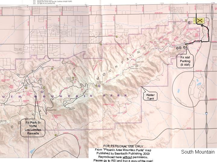Looking for a south mountain trail map mtbr south mtn trails 2 jpegg sciox Choice Image