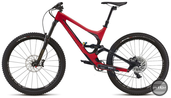 Specialized Enduro 650B concept drawing