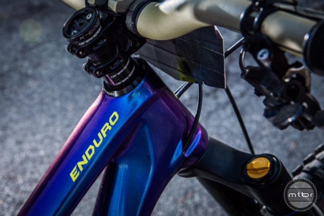 Curtis Keene's Specialized Enduro 29er race bike- Mtbr com