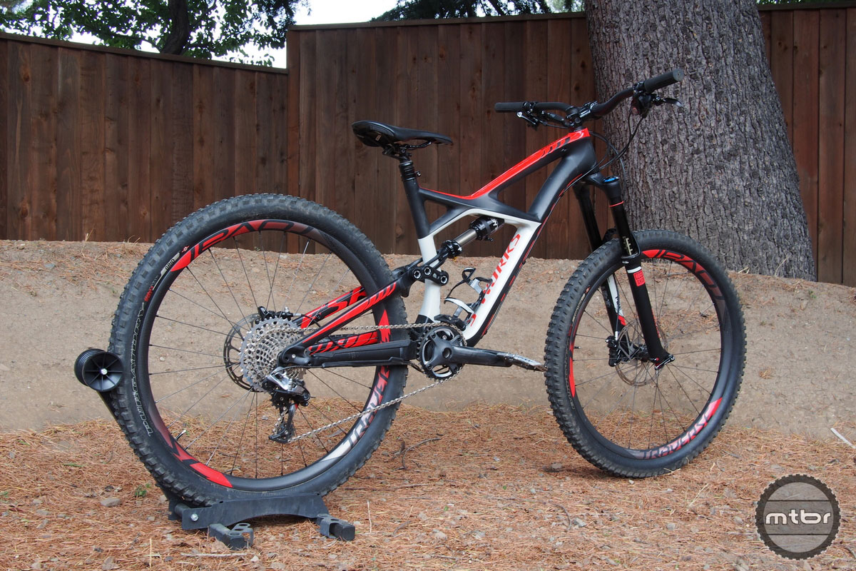 Specialized Enduro S-Works Rear Quarter
