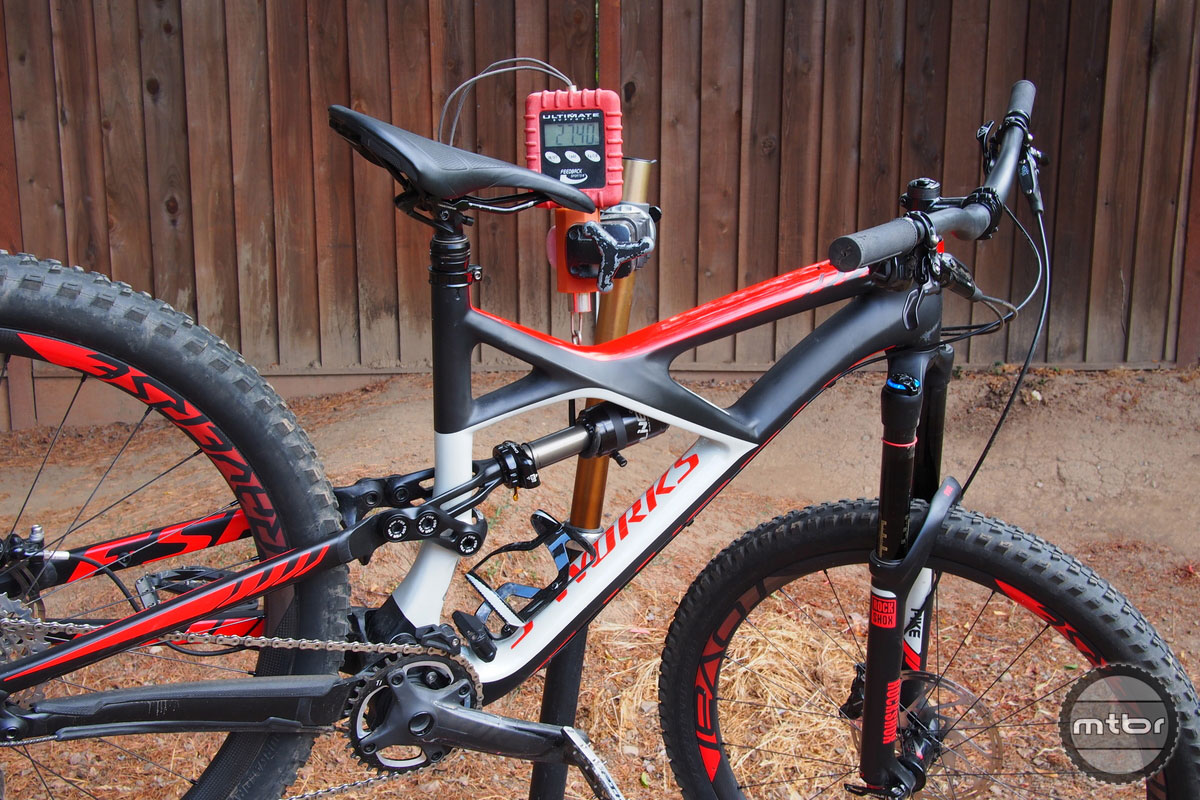 Specialized Enduro S-Works Weight