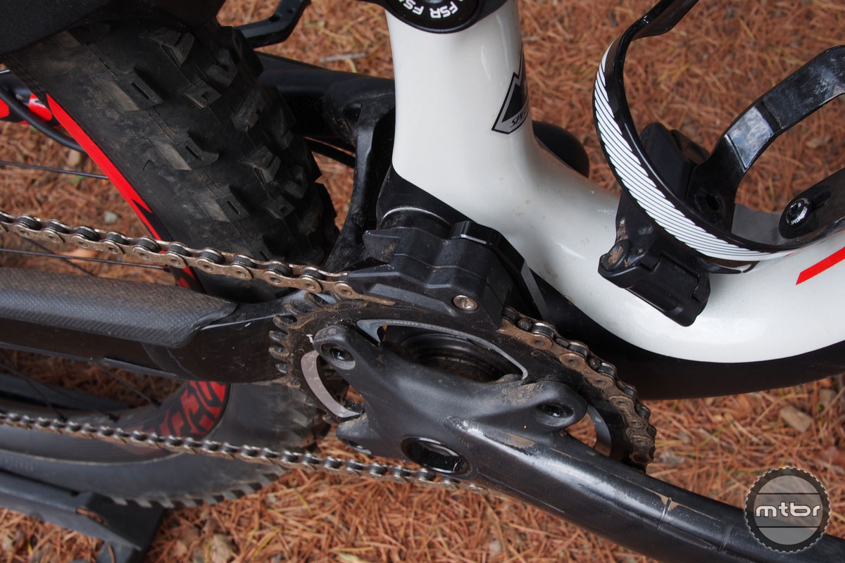 Specialized Enduro S-Works with Specialized Chain Guide