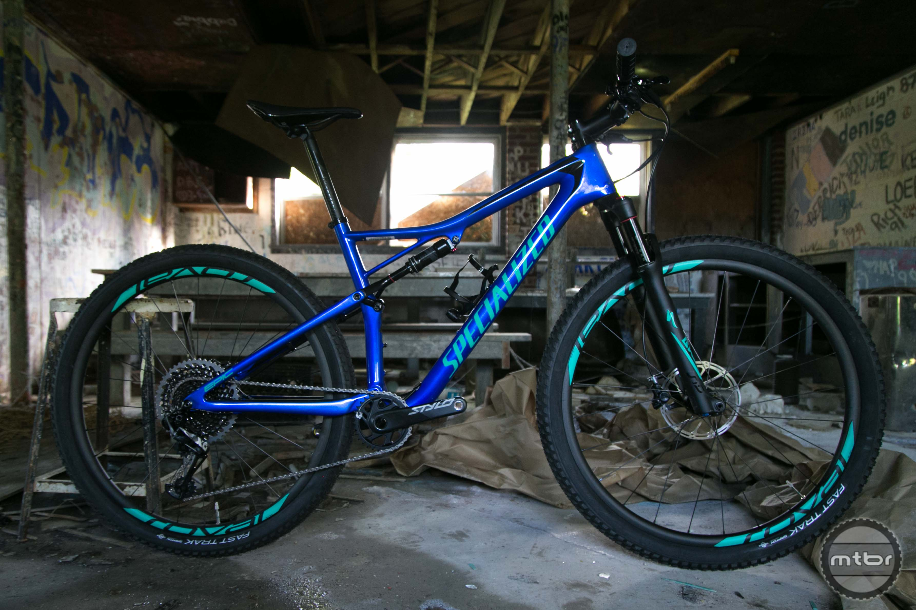 The Epic has been a mainstay in the Specialized lineup for fifteen years.