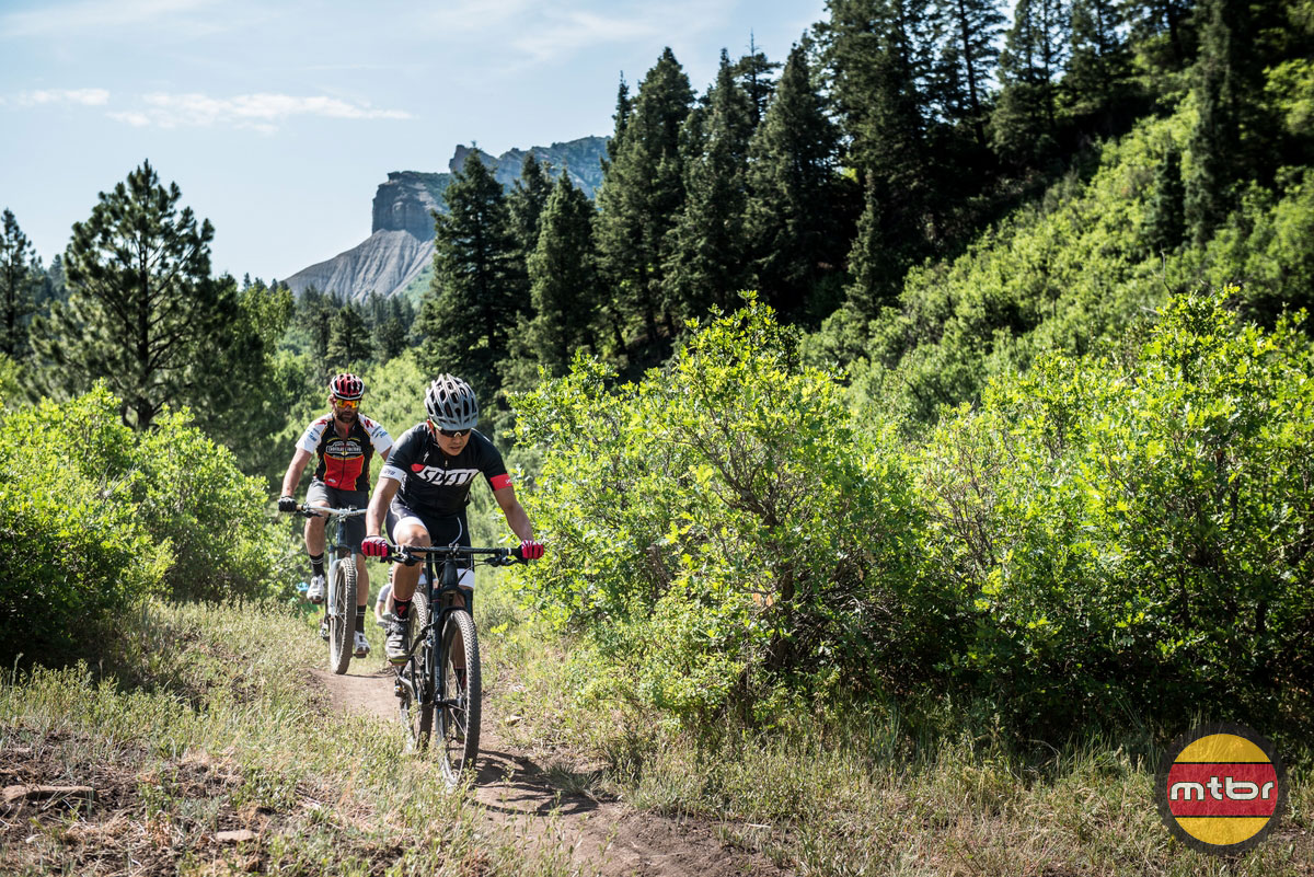 Specialized Epic in Durango with Mtbr and Chad Cheney