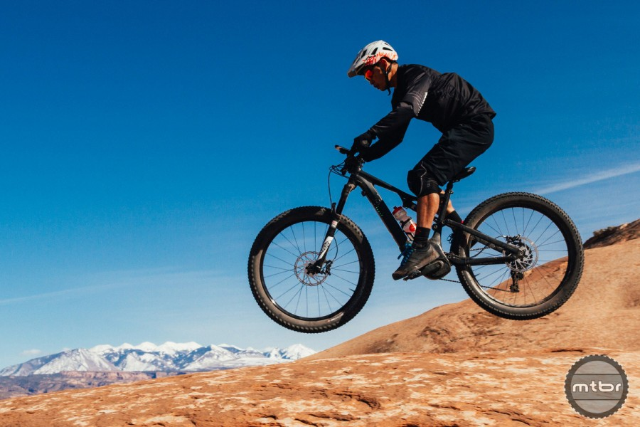 Due to growing concerns regarding land management and trail access, there's alot of rage against e-bikes - but it's hard to deny how fun they are once you give it a go.