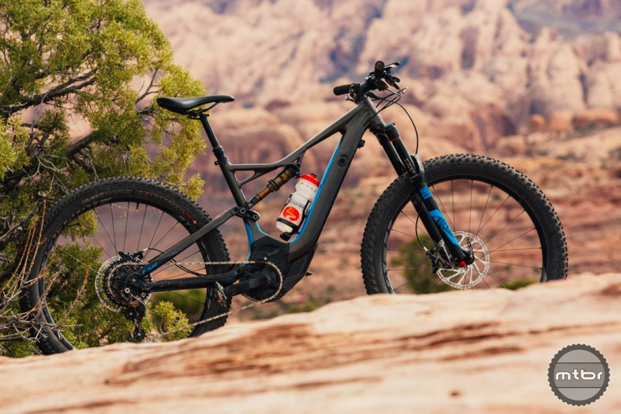 Early e-bikes rode poorly and looked like a hacked together science project, but models like the new Specialized Turbo LEV combine modern geometry and high quality design to deliver impressive performance. Photo by Specialized / Colin Belisle