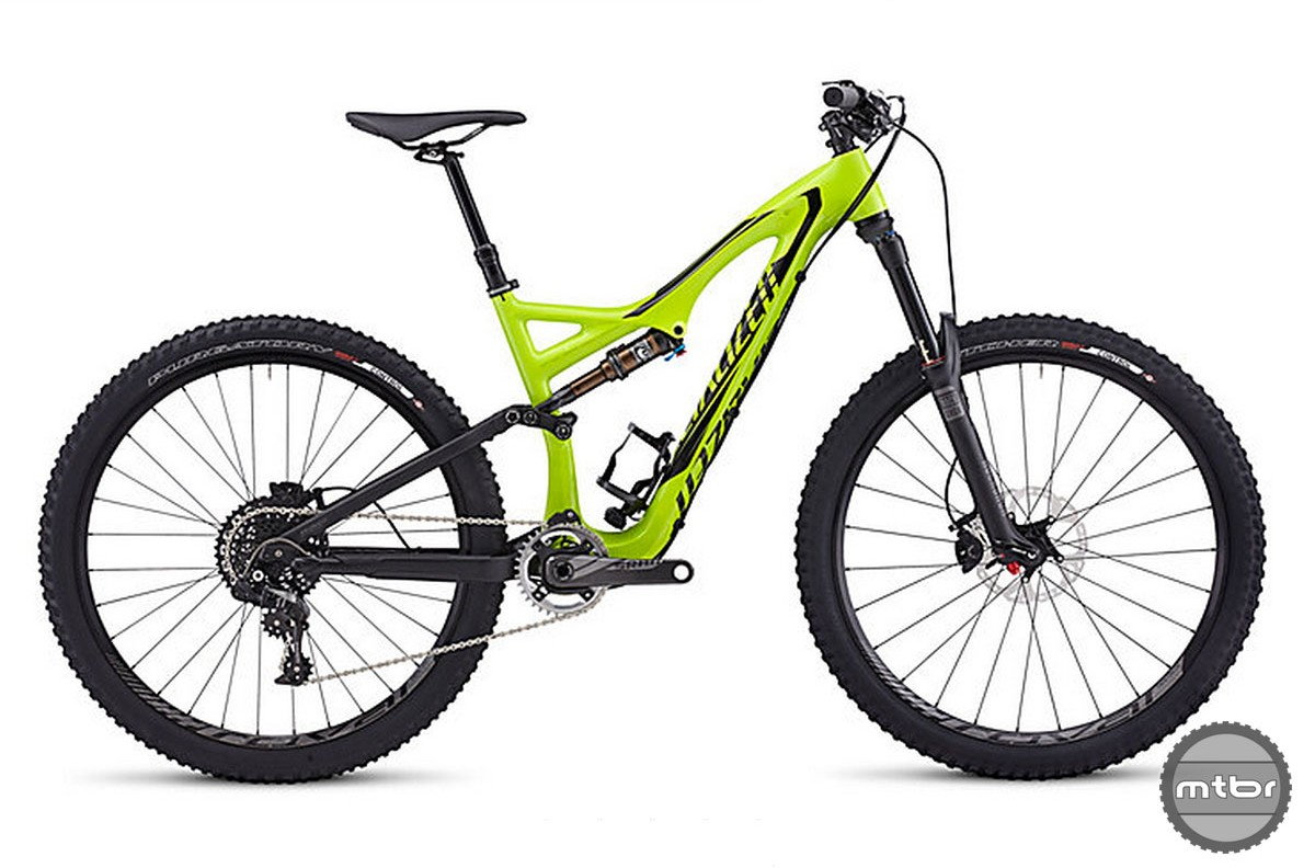 Specialized Stumpjumper 650b Yellow