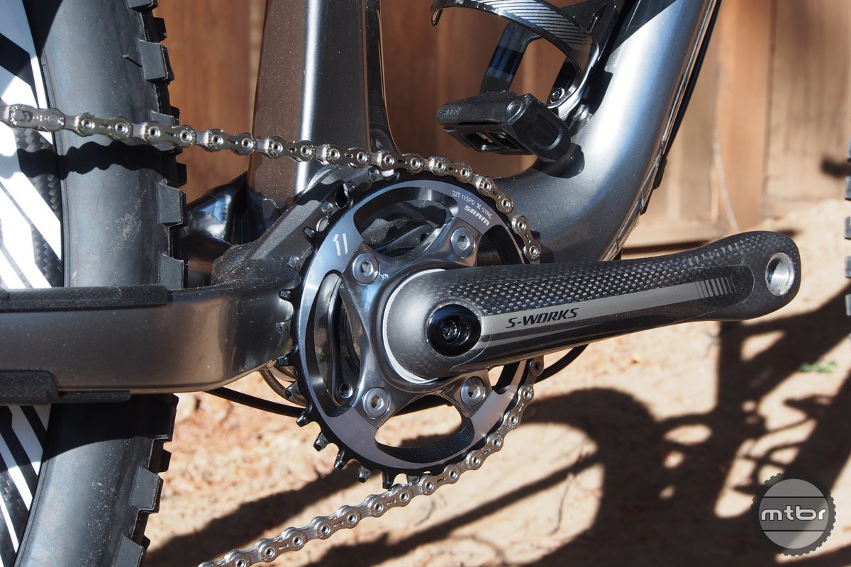 Specialized Stumpjumper Evo 29 Drivetrain