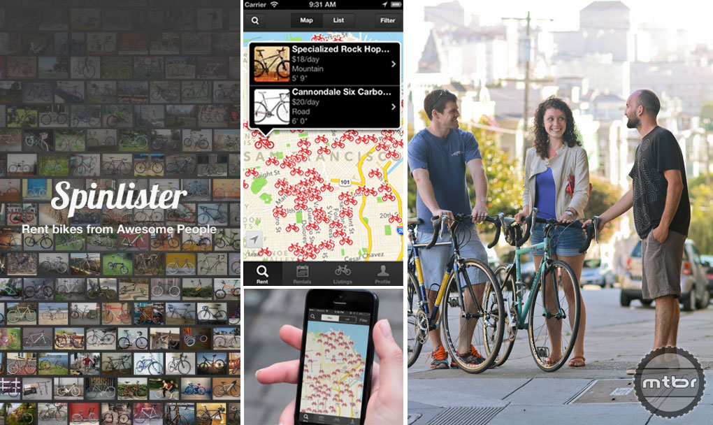 Spinlister is a a peer-to-peer bike rental platform connecting the cycling universe. Photos courtesy of Splinster