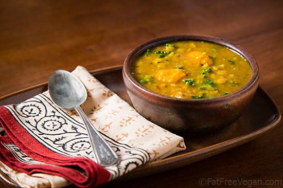Vegetarian / Vegan / Raw recipes & chat-split-pea-soup-kale-sweet-potatoes.jpg