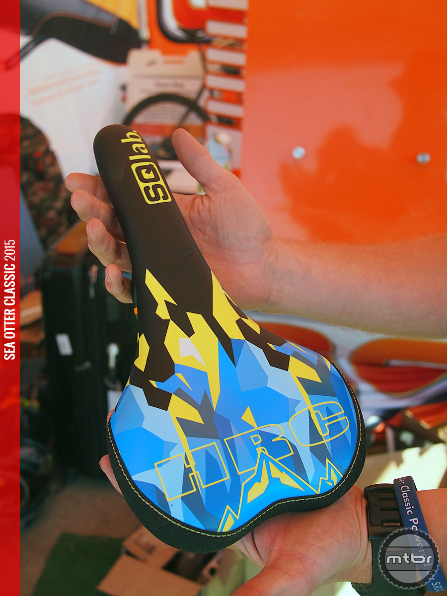 SQlab's Hans Rey Signature Edition saddle
