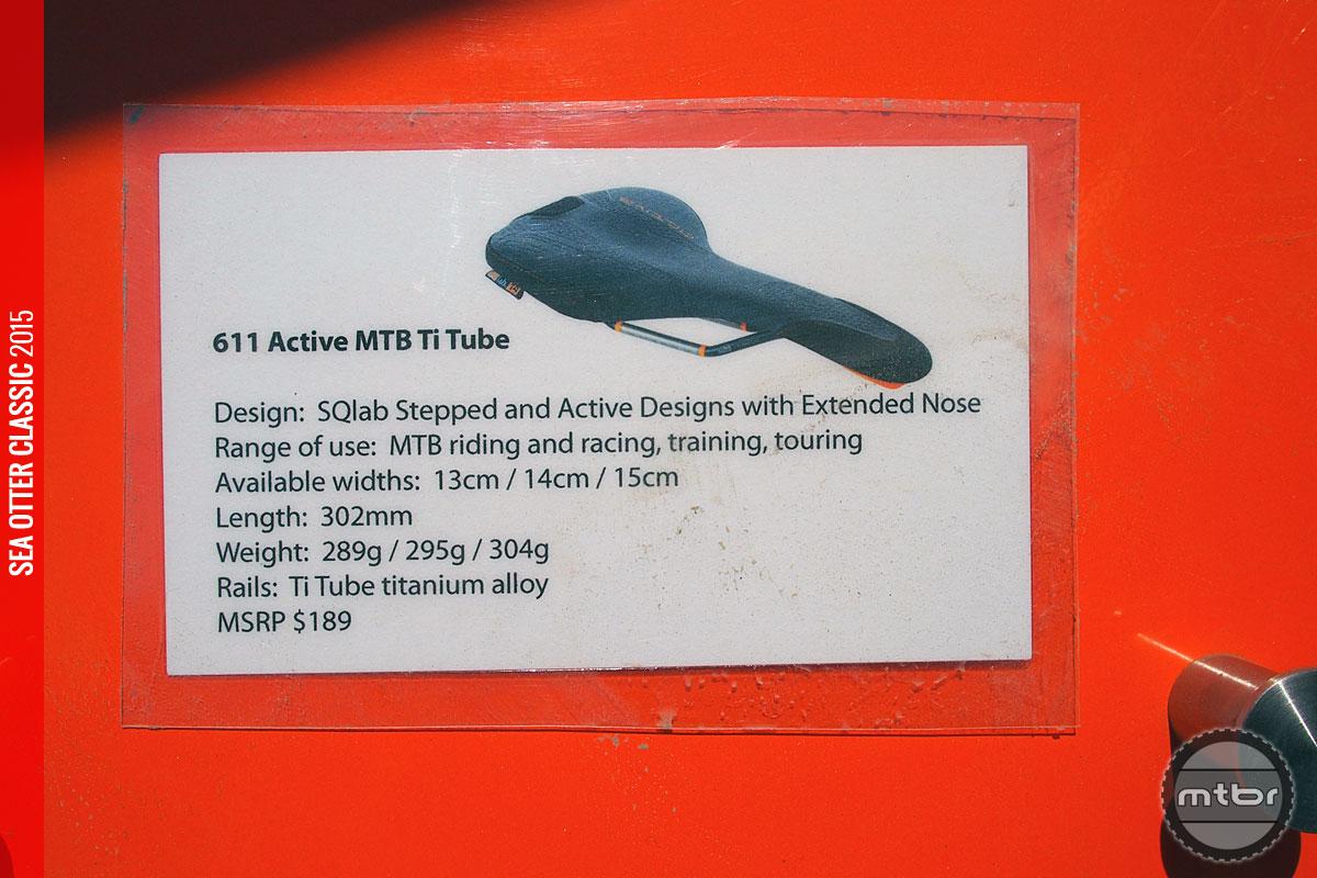 SQlab - 611 Active MTB Ti Tube