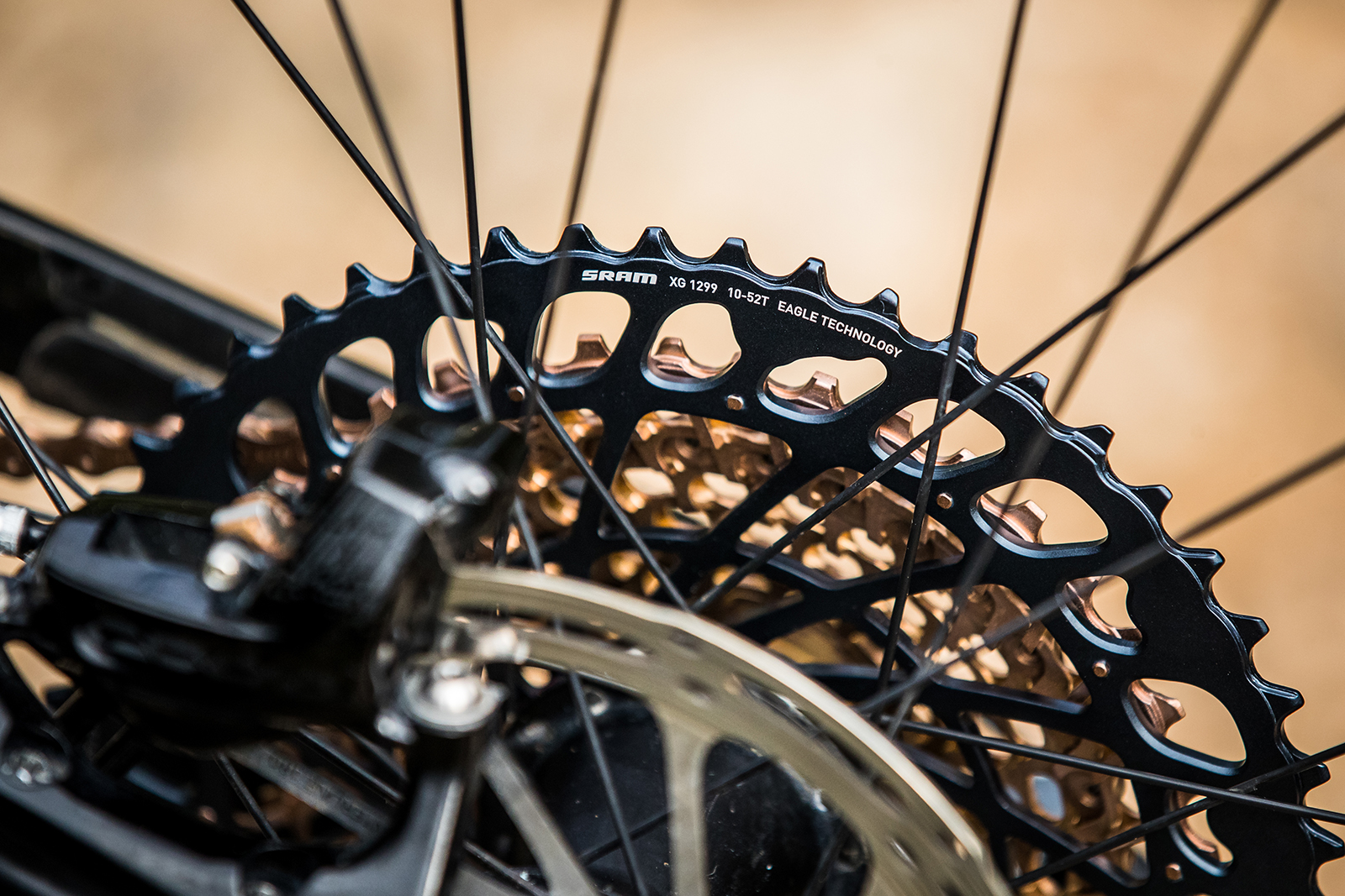 The new expanded-range 10-52t cassettes will work best with SRAM's new Eagle rear derailleurs.