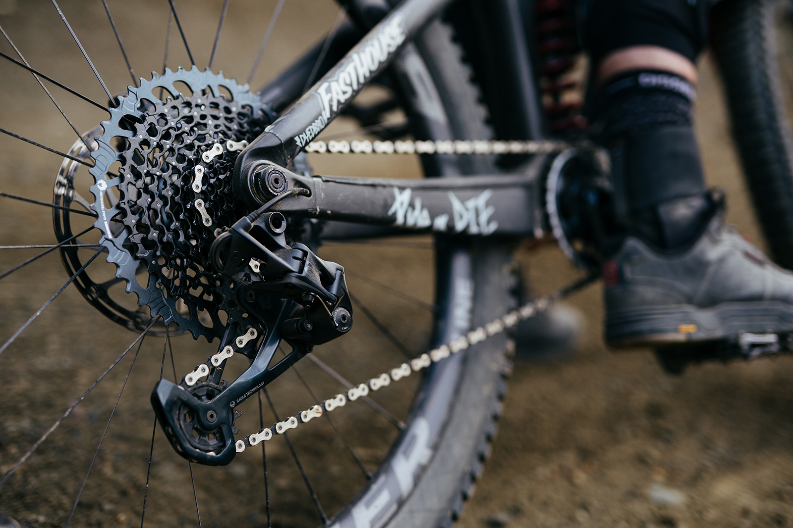 The new Expanded Range Eagle rear derailleurs were developed to work with SRAM's new 10-52T cassettes, though they are backward compatible with 10-50T cassettes.