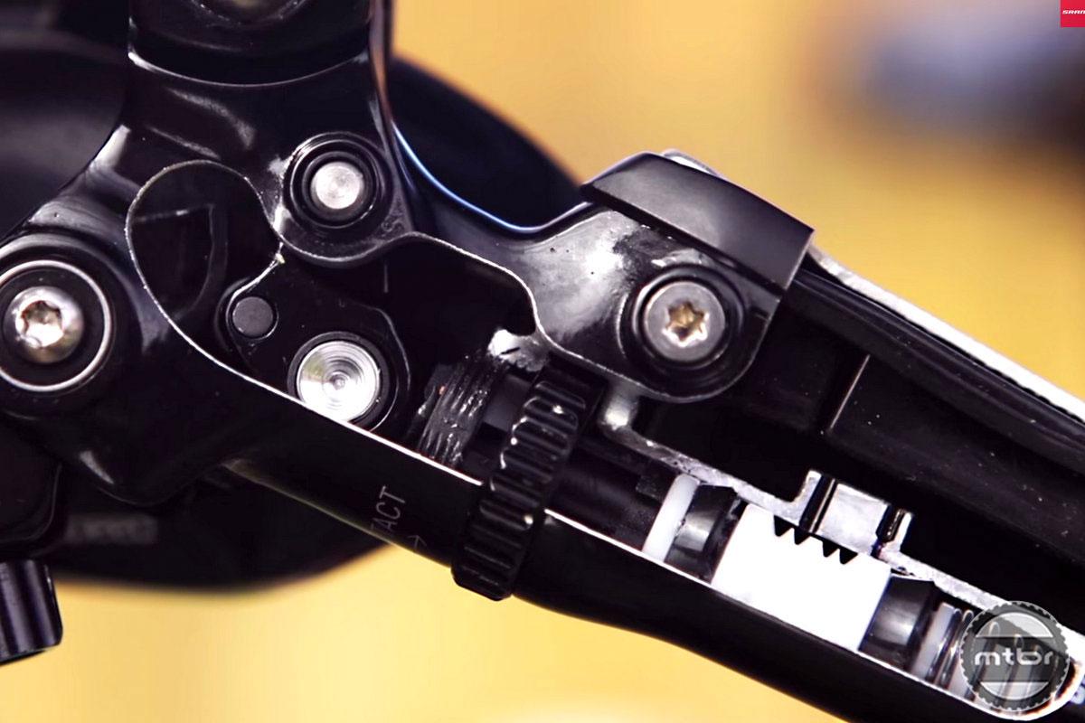SRAM Guide Brake Lever Internals