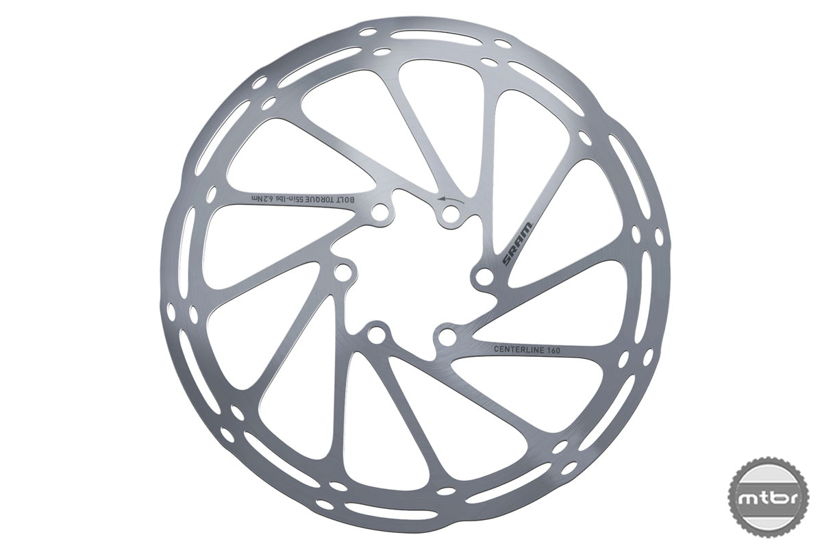 SRAM MTB Guide Centerline Rotor Front 160mm