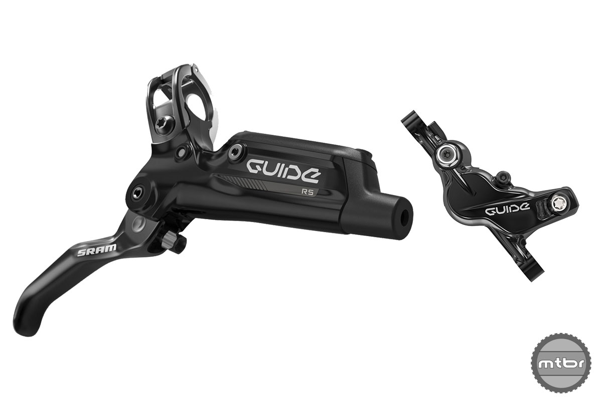 SRAM MTB Guide RS Black Lever Caliper