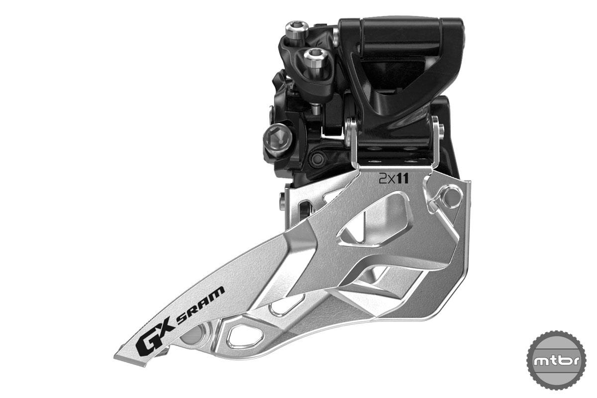 SRAM MTB GX FD 2x11sp HC Bottom Pull