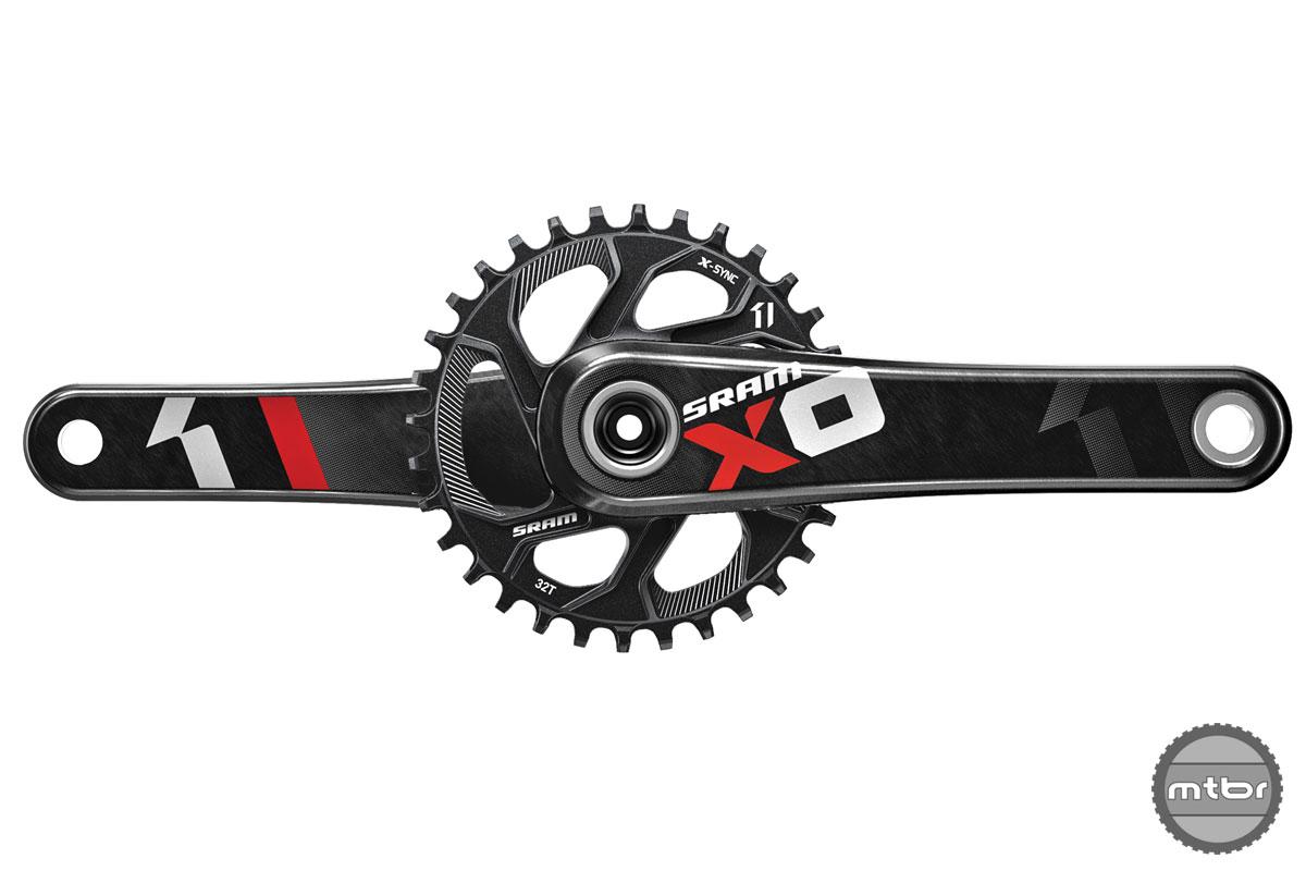 SRAM MTB X01 Crank DM Chainring