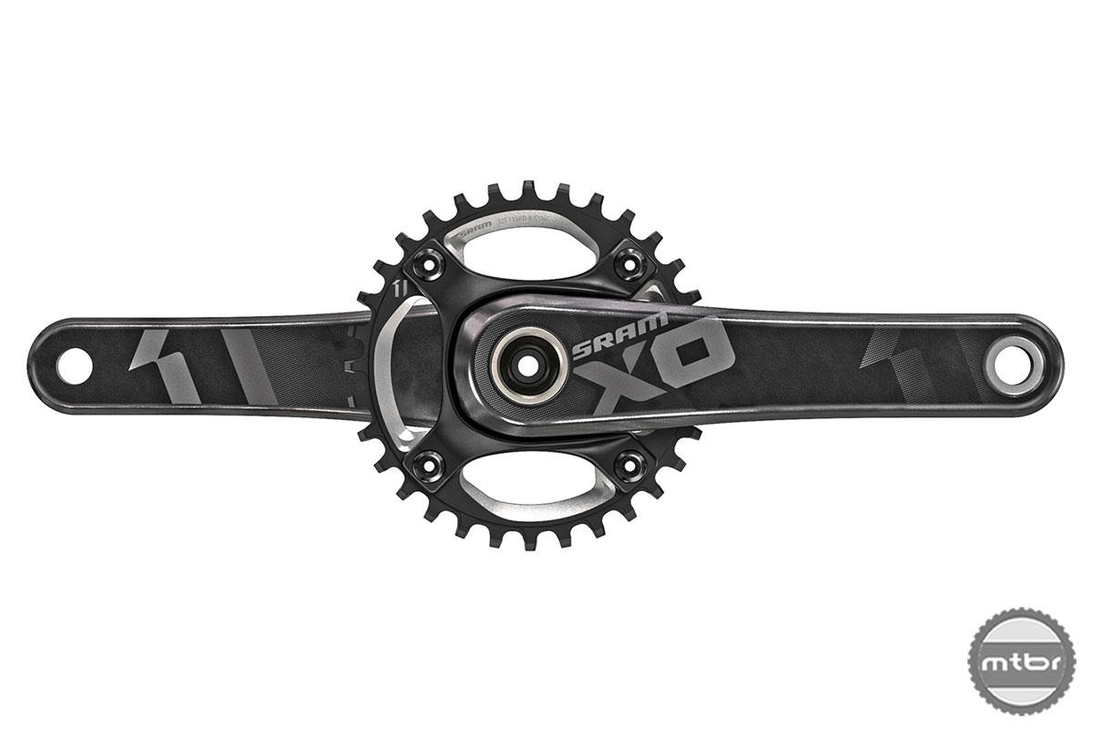 SRAM MTB X01 DH Crank Black