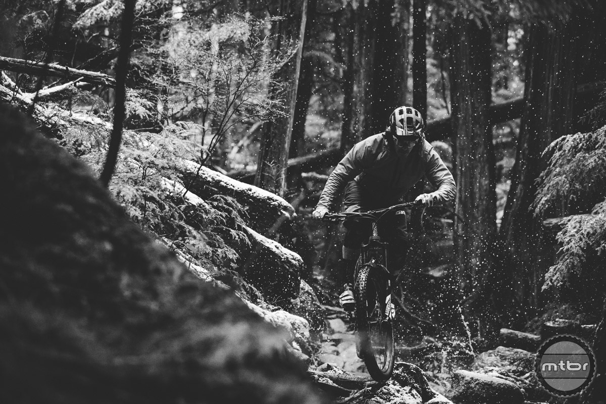 Lap after lap, rain or shine, that's the reality of being a professional mountain bike athlete.
