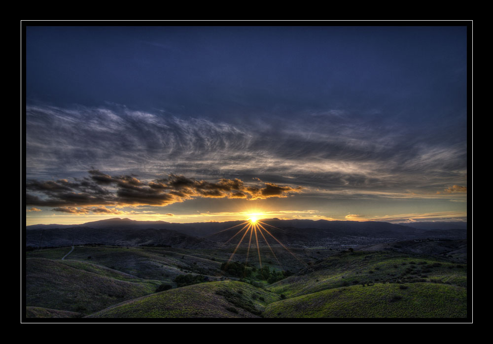 Photo Assignment: Sunset-st-foothills_hdrmed.jpg