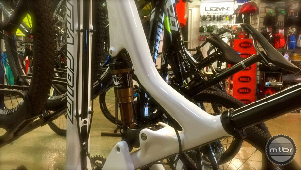 Adjusting stack and reach is one of the best ways to tinker with geometry on your bike. Photo courtesy of Art's Cyclery