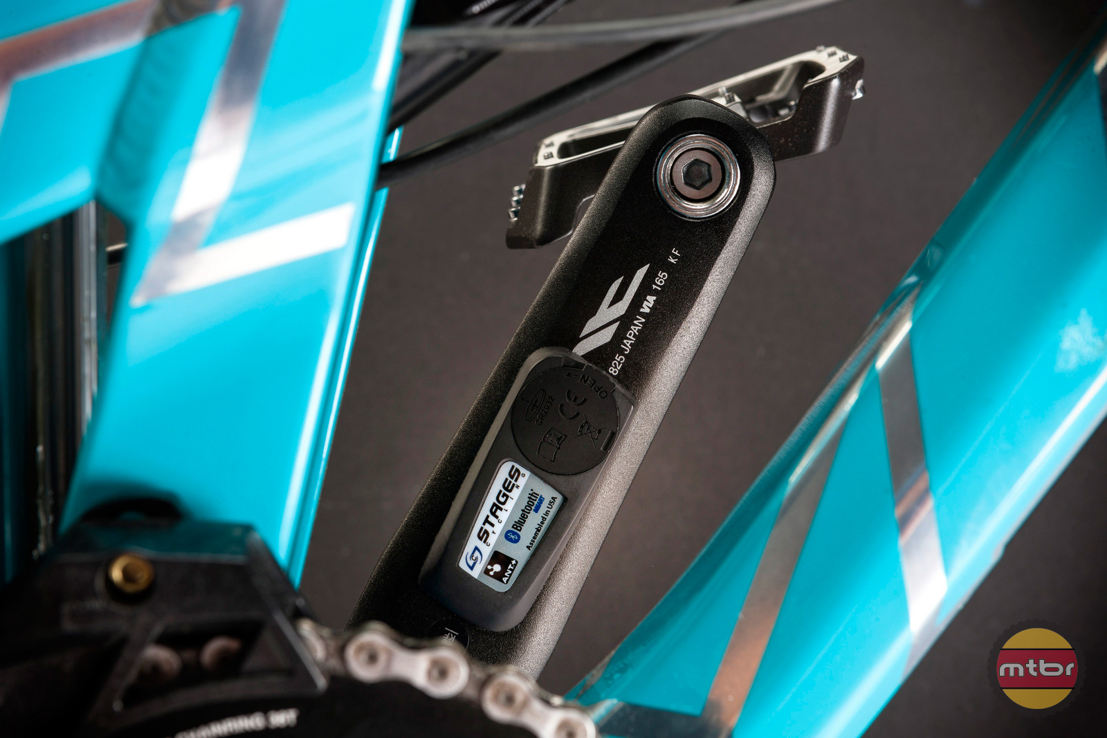 Stages Power Meter on Shimano Saint