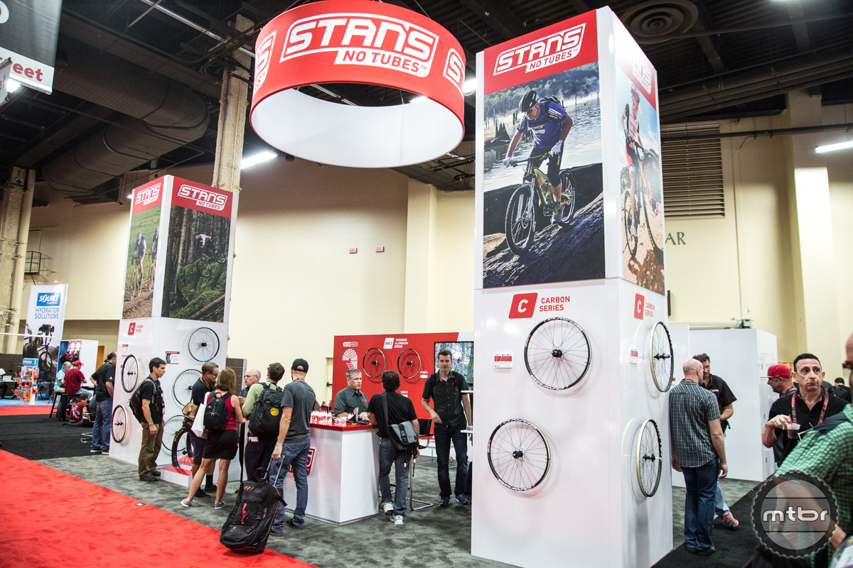 Stam's NoTubes Interbike 2016 Booth