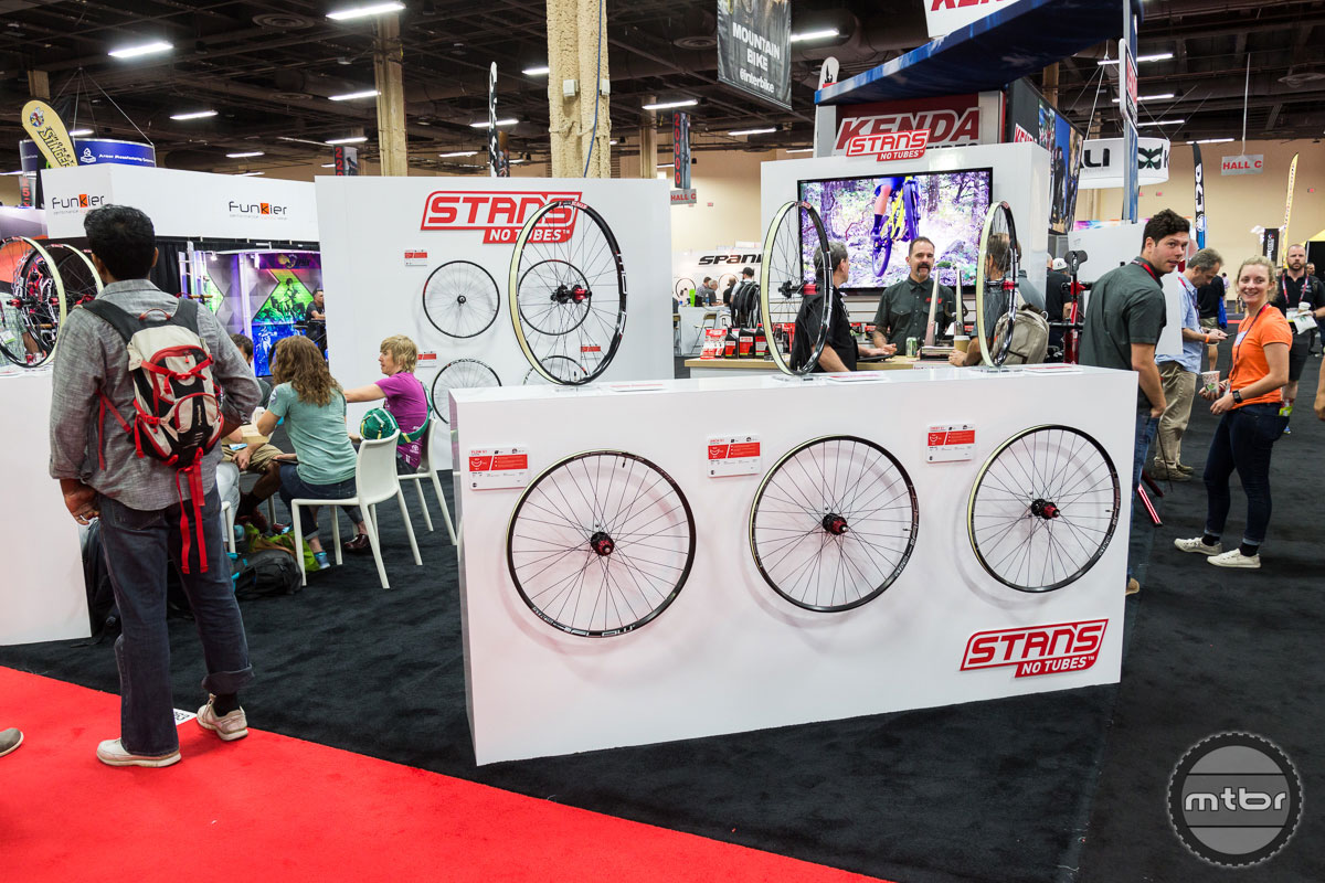 Stan's NoTubes Interbike 2017 Booth
