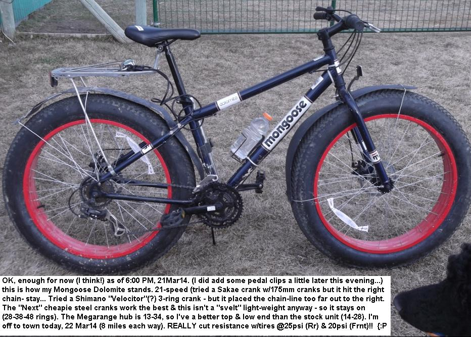 swypeout Mongoose Bike Parts List