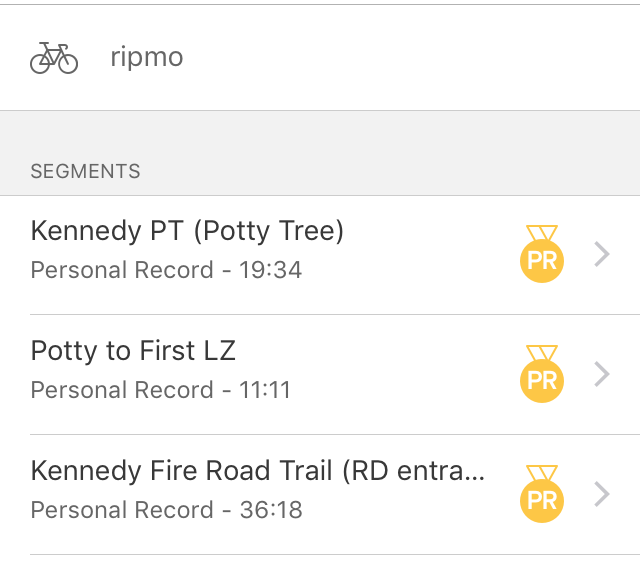 8th Annual 20/40 under from Kennedy Trailhead-strava.png