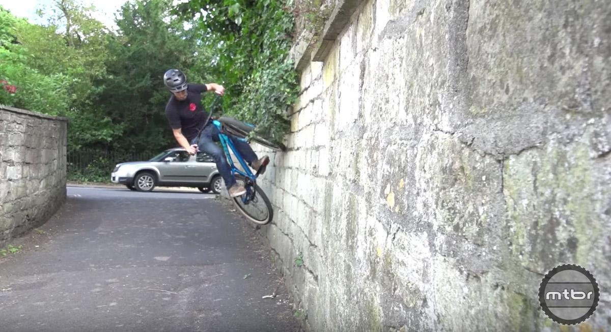 Wall rides.
