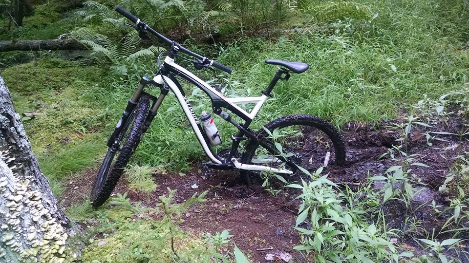 What did You do today on your mountain bike?-stuck.jpg