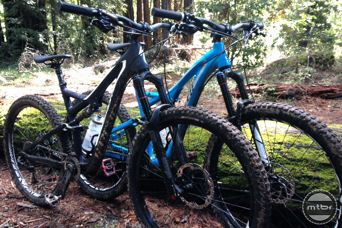 8307f4515e5 First Ride: Specialized's new 650b/27.5-inch Stumpjumpers- Mtbr.com