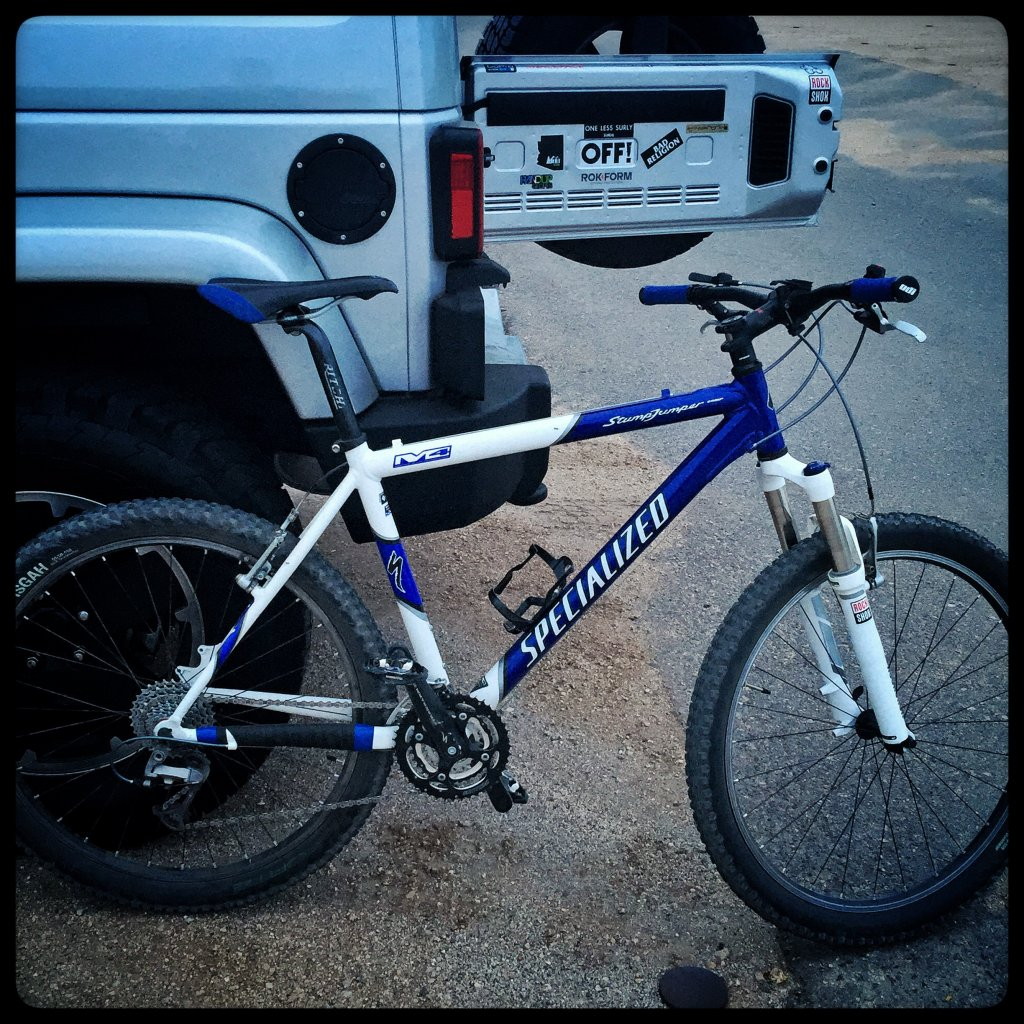Are you still running a 26 frame with rim brakes ?-stumpy-m2.jpg