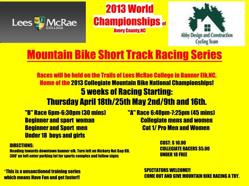 Short Track Series p/b Abby Design & Construction  at Lee's McRae College-stxcflyer.jpg