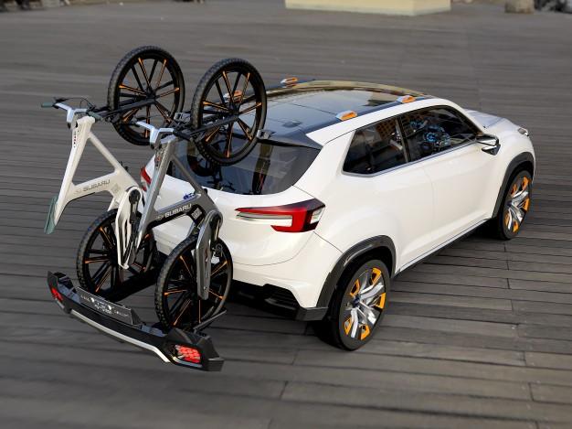 Subaru Retractable Bumper Bike Rack.-subaru-viziv-bikes-626x469.jpeg