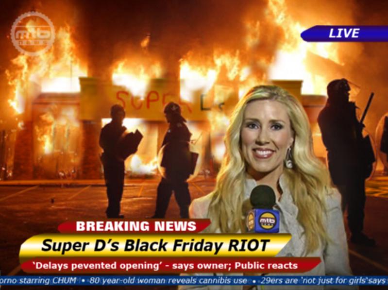 Super Ds Riot