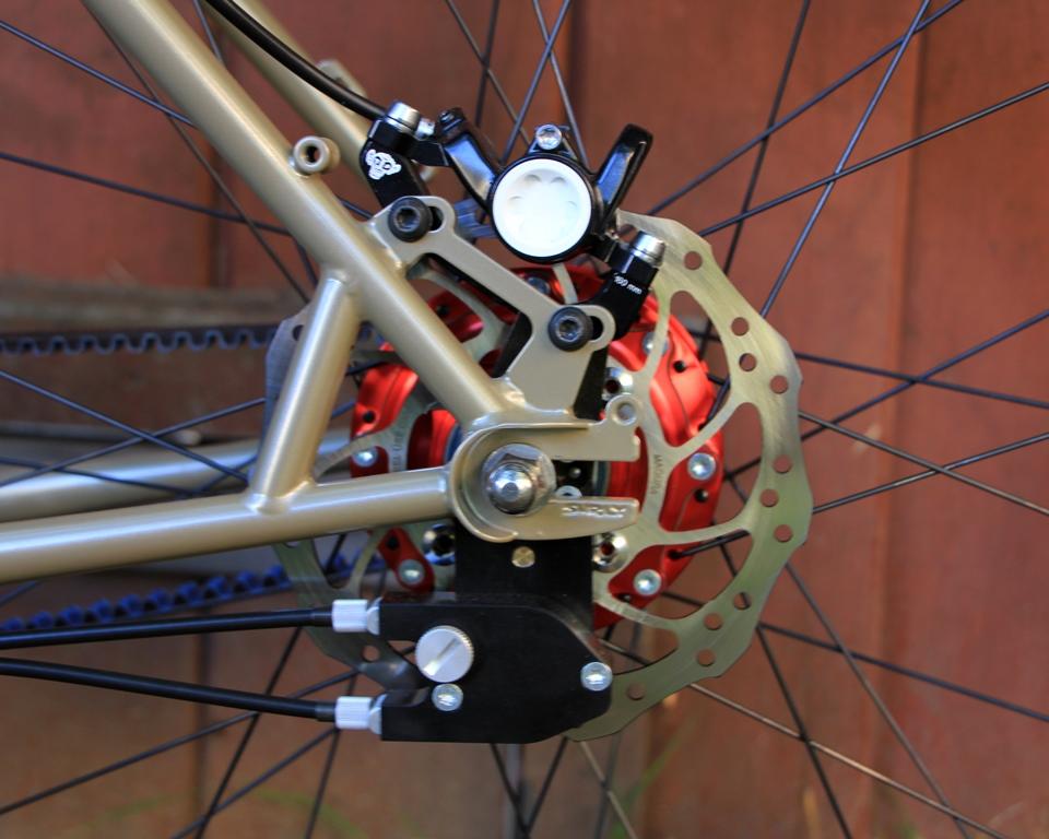 Rohloff Speedhub 500 14 External Gear Mech Best Position